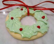 Biscuiti coronita de Craciun