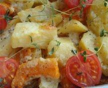 Cartofi cu dovleac la cuptor