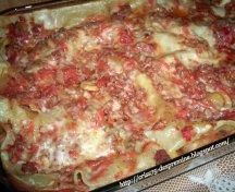 Lasagna cu legume si carne
