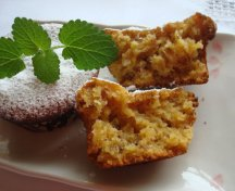 Muffins cu migdale si miere