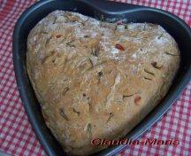 Paine Pizza in forma de inima
