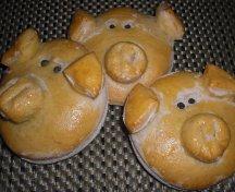 Porcusori - chifle pentru copii
