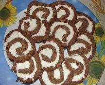 Rulada cu nuca de cocos - fara cuptor