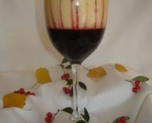 Sabayon - spuma de vin cu fructe de padureSabayon - spuma de vin cu fructe de padure
