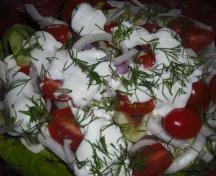 Salata cu anchoa si mozzarella