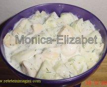 Salata de castraveti si ciuperci