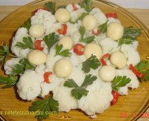 Salata de conopida cu ciuperci