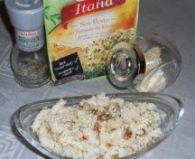 Salata de paste cu sos pesto si susan