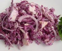 Salata de varza cu piept de pui