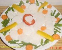 Salata din ridiche alba