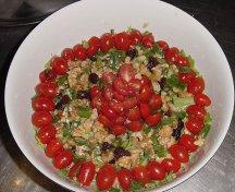 Salata verde cu nuca si stafide