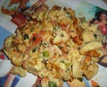 Scrob cu legume - Omleta