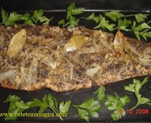 Somon provencal cu garnitura de legume