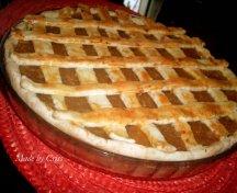 Tarta cu mere, cu aluat crocant