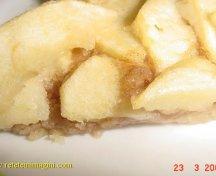 Tarta subtire cu mere