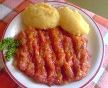 Tocana de gogonele - rosii verzi