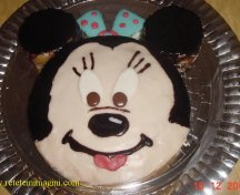 Tort Minnie de post