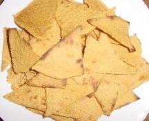Tortilla chips preparate in casa