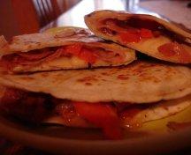 Tortillas cu sunca si cascaval